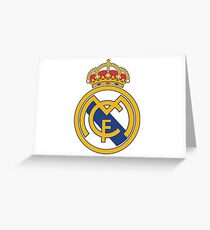 Real madrid SOCCER Greeting Card