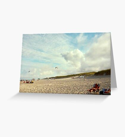Clouds So Low They Almost Touch The Beach, Island Beach NJ Greeting Card
