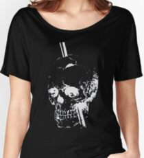 The Skull of Phineas Gage (White) Women's Relaxed Fit T-Shirt