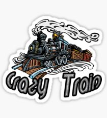 Crazy Train Sticker