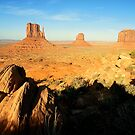 Artists Point, Monument Valley, Utah by Pete Paul