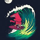 Moonlight Surfer by DinoMike