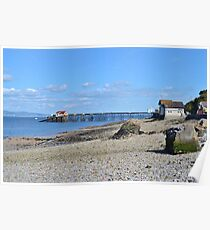 Mumbles Lifeboat Station & Pier Poster