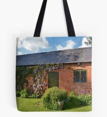 Garden Out Building Tote Bag