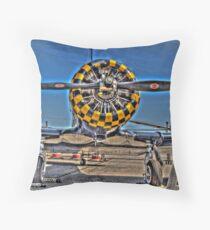 Checkered Cowl Throw Pillow