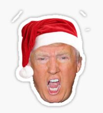 Christmas Trump Sticker