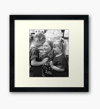 Friends~ Framed Print