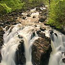 Falls of Braan by Chris Cherry