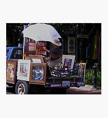 Artist At Work Photographic Print