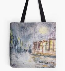 NIGHT IN THE SUBURBS  Tote Bag