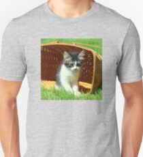 Kitten Licking Her Lips T-Shirt