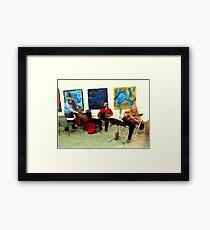 Music and Art Framed Print