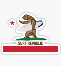Surf Republic Sticker