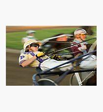 Harness Racing Photographic Print