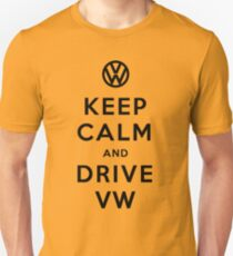 Keep Calm and Drive VW (Version 02) T-Shirt