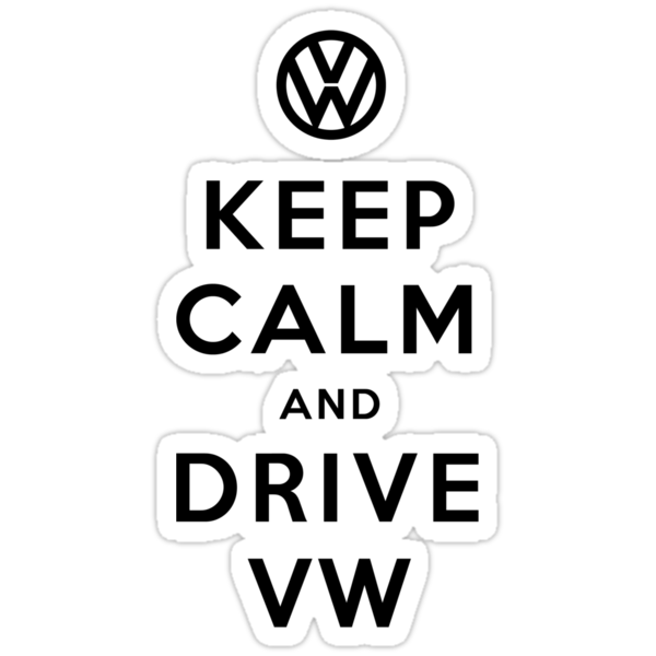 Keep Calm and Drive VW (Version 02) by soulthrow