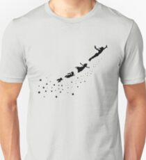 Peter Pan Flying Unisex T-Shirt