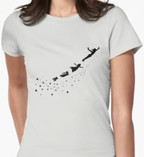 Peter Pan Flying Women's Fitted T-Shirt