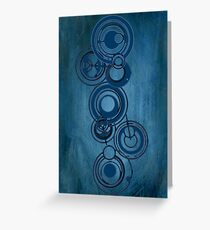 Gallifreyan Graffiti Greeting Card