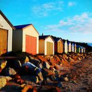 Bathing Boxes, Dromana by Natalie Cooper
