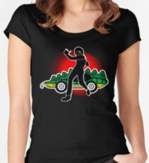 Go, Franky, Go! Women's Fitted Scoop T-Shirt