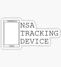 NSA CELL PHONE TRAP... ITS A TRAP!!!! Sticker