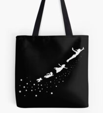 Peter Pan Flying Tote Bag