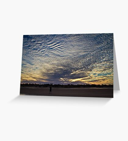 Sunset - Port Headland - WA Greeting Card