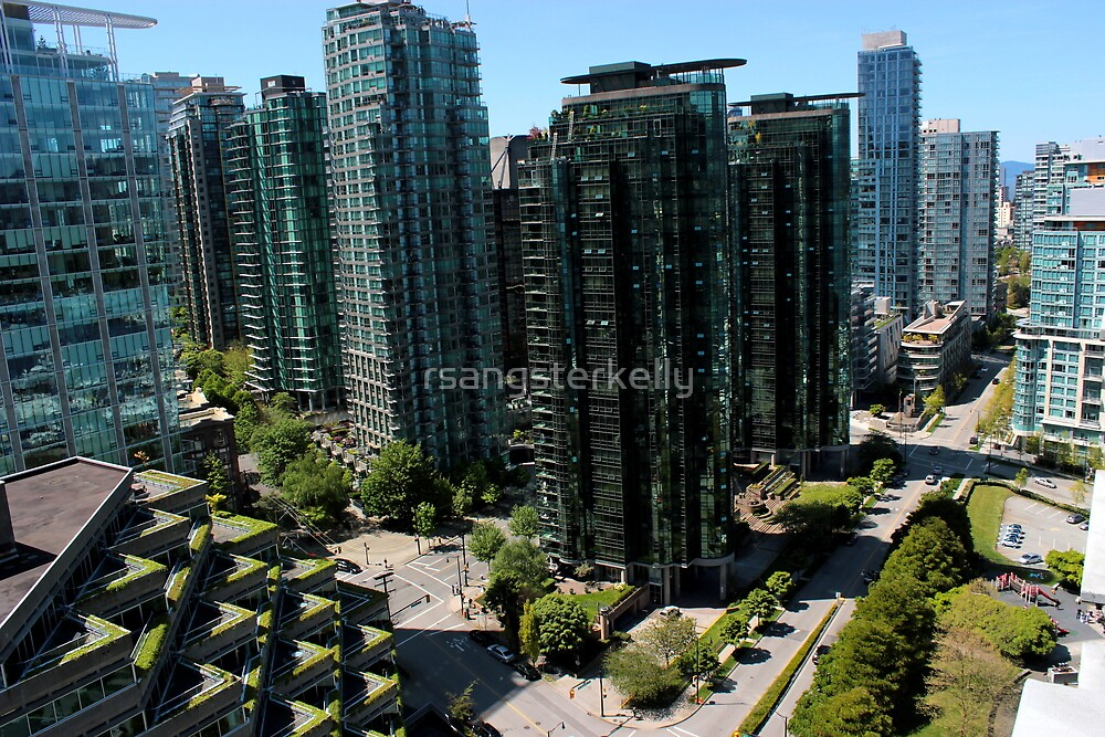 Vancouver - West Hastings By Day by rsangsterkelly