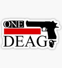 One Deag Sticker