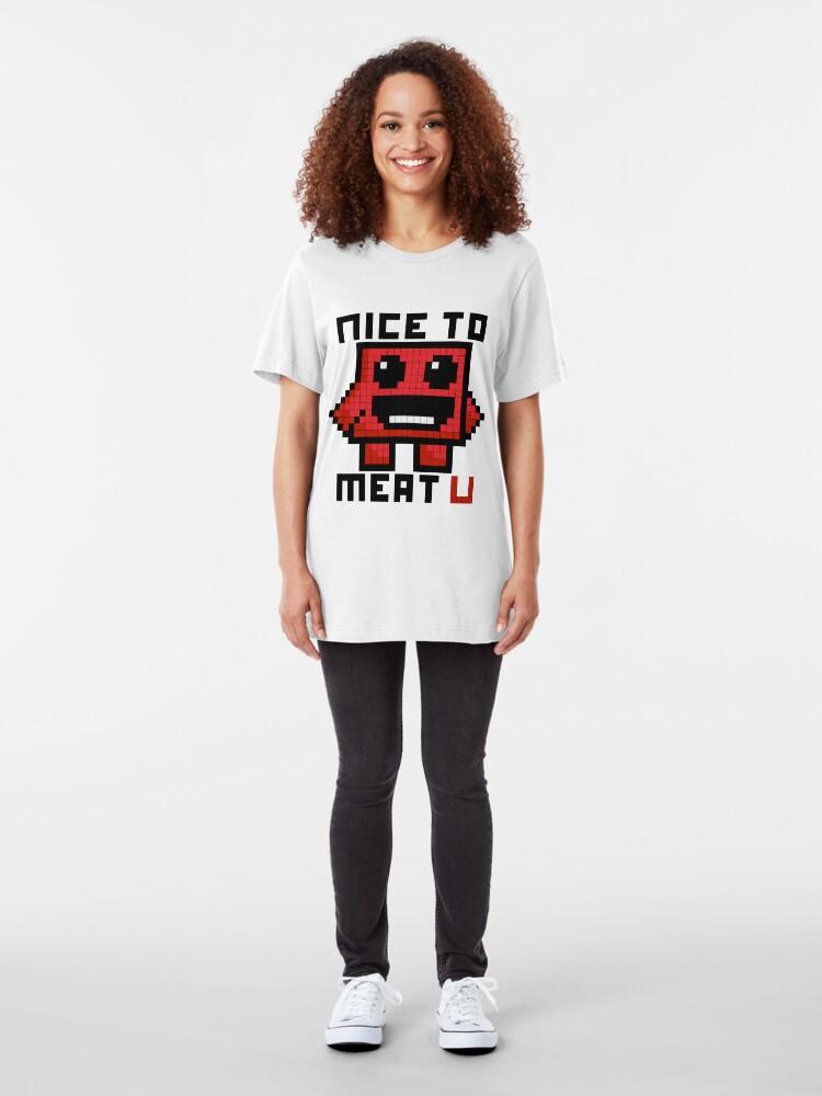 Alternate view of Nice To Meat U Slim Fit T-Shirt