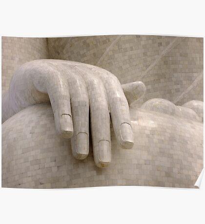 THE HAND OF BUDDHA - Phuket Poster