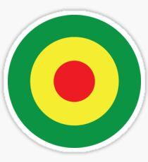 Reggae rasta mod Sticker