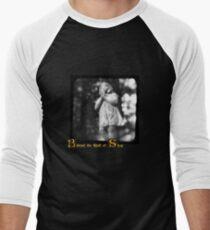 Behind the Wall of Sleep Men's Baseball ¾ T-Shirt