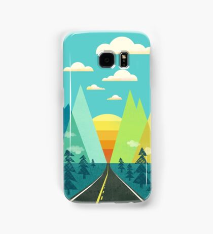 the Long Road Samsung Galaxy Case/Skin