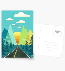 the Long Road Postcards
