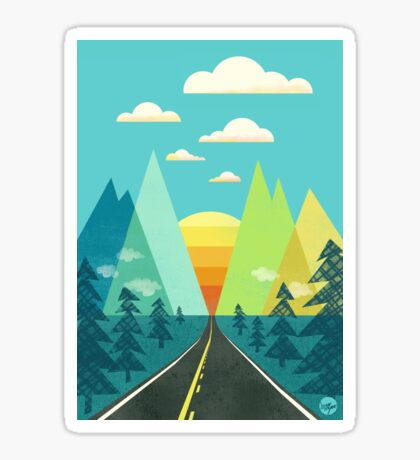 the Long Road Sticker