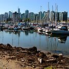 Vancouver - Stanley Park - The Harbour Front by rsangsterkelly
