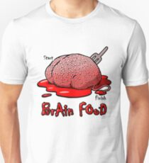 Maze Shirts: Brain Food T-Shirt