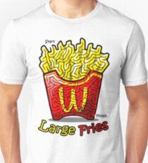 Maze Shirts: Large Fries T-Shirt