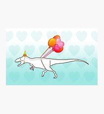 Party Daspletosaurus desperatus Photographic Print
