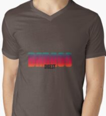 Badass Digest Mens V-Neck T-Shirt