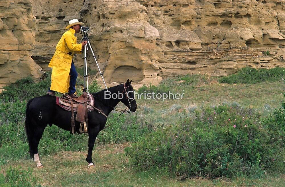 Cowboy Photographer by Bob Christopher