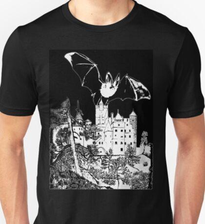Dracula's Castle (Bran Castle in Romania) T-Shirt design T-Shirt