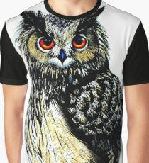 Eagle Owl Graphic T-Shirt