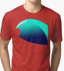 Surf Wave Tri-blend T-Shirt