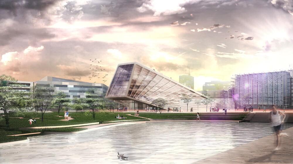 Helsinki Library Competiton Proposal 2012 by lukelorimer