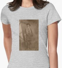 Billy The Kid  Women's Fitted T-Shirt
