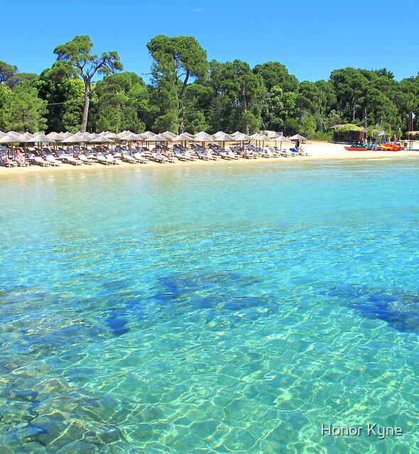 Koukounaries Beach - Skiathos, Greek Islands by Honor Kyne