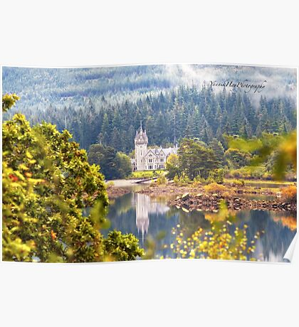 Glen Bogle Castle (Ardverikie Estate, Kinlochlaggan, Inverness-shire, Scotland) Poster